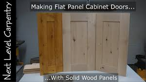 diy flat kitchen cabinet doors how to make professional grade flat panel cabinet doors