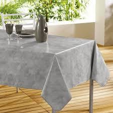 nappe cuisine plastique douceur d interieur nappe toile cirée décor line béton cirée