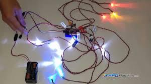 12 led flashing light system for rc cars trucks robotics