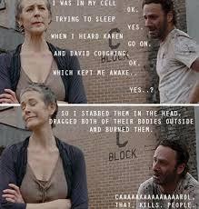 Walking Dead Carol Meme - the walking dead memes carol that kills people wattpad