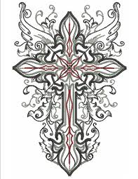 wings of the cross machine embroidery designs by sew swell
