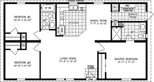 3 bedroom 2 bath house three bedroom mobile homes l 3 bedroom floor plans