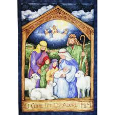 holy night nativity panel www homesew com