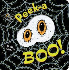 childrens halloween books peek a boo nina laden 9781452133966 amazon com books