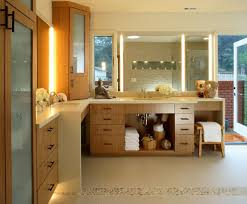 Bamboo Bathroom Cabinet Bamboo Bathroom Vanity Double Sink U2014 New Decoration Modern