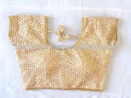 golden blouse designer golden color readymade blouse style