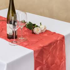 cheap coral table runners teal and coral wedding ideas for table runners its happening design