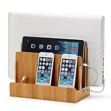 phone charger organizer amazon com g u s multi device charging station dock organizer