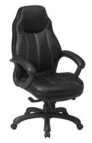 black leather desk chair black leather office chair for elegant look office architect