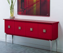 Gloss Red Kitchen Doors - red high gloss thermofoil cabinets kitchen craft