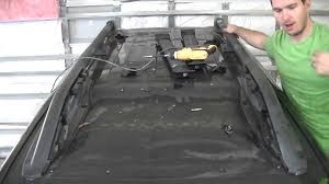 2011 Nissan Frontier Roof Rack by Nissan Xterra Roof Rack Removal Youtube