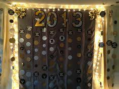 new years back drop chevron backdrop and tick tock photobooth
