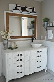 Bathroom Cabinets Painting Ideas Farmhouse Master Bathroom Reveal Little Vintage Nest