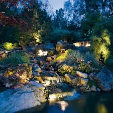 Kitchler Landscape Lighting Kichler Landscape Waterfall Series Turn Your Outdoors Into A Work
