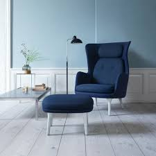 Light Blue Room by Fritz Hansen Ro Chair Jaime Hayon Modern Furniture Palette