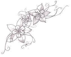 Flower Designs For Drawing Best 20 White Flower Tattoos Ideas On Pinterest Black Flower