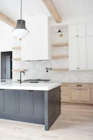 modern kitchen with white oak cabinets zdesign at home new build reveal zdesign at home