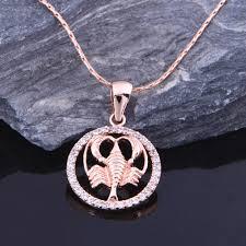 aliexpress com buy almei silver color necklace constellation