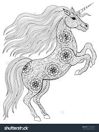 coloring pages of unicorns and fairies coloring page unicorn color pages amazing pictures of unicorns to