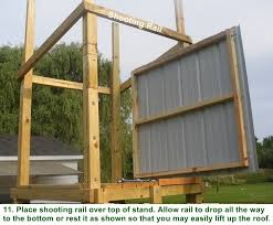 Building A Box Blind Free Box Deer Stand Building Plans