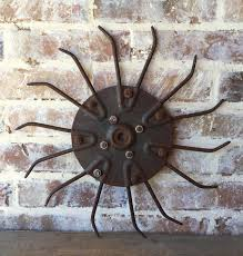 large steel metal pulley gear wheel industrial steampunk flywheel