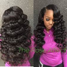 sew in simple hairstyle for cute sew in hairstyles ideas about sew in