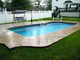 Backyard Pool Cost by Inground Swimming Pool Ideas Inground Swimming Pool Kits Reviews