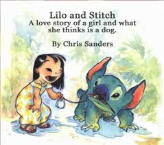 chris sanders u0027 lilo stitch pitch booklet disney lilo