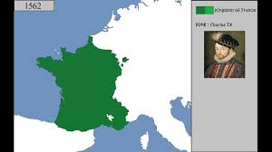 Show Me A Map Of France by History Of France 987 2016 Every Year Youtube