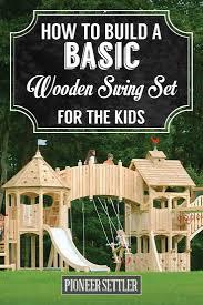 počet nápadov na tému wood swing sets na pintereste 17 najlepších