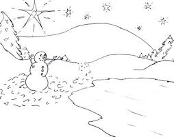 scene winter coloring pages printable 579147 coloring pages for