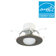 oil rubbed bronze kitchen lighting black recessed lighting ceiling lights the home depot