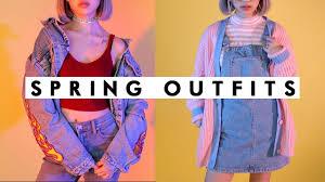spring 2017 90s lookbook iamkareno youtube