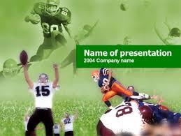 american association football powerpoint template backgrounds