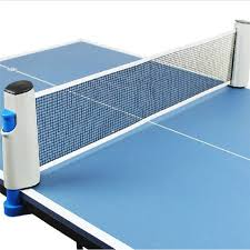 portable table tennis table retractable table tennis table plastic strong mesh net portable net