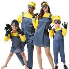 despicable me halloween costumes childrens adults boys girls mens womens minion costume halloween
