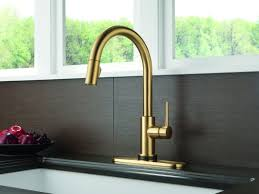delta kitchen faucet warranty faucet com 9159t cz dst sd in champagne bronze by delta