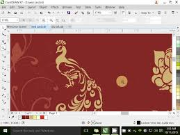 home design ideas in hindi how to make wedding card corel draw x7 in hindi क रल ड र