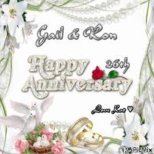 26th wedding anniversary gail 26th wedding anniversary picmix