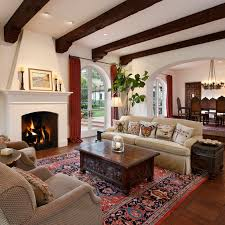 colonial living rooms spanish great rooms living room christmas pinterest spanish