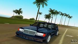 mercedes benz 190e 1990 for gta vice city