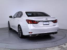 lexus gs f for sale used 2013 lexus gs 350 f sport sedan for sale in hollywood fl