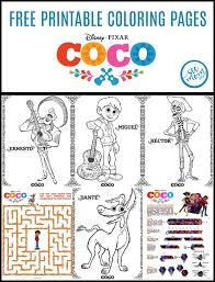 disney pixar coco coloring pages trailer mom