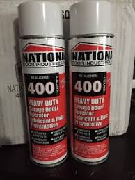 Garage Door Spray Lubricant by Brand New 2 Cans 400 Hd National Door Lube Lubricant 15oz