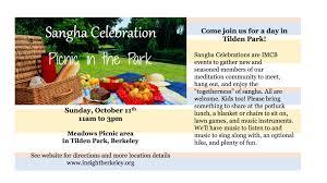 Tilden Park Map Sangha Celebration Picnic In The Park Insight Meditation