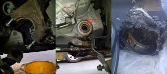 replacing the rear main seal 2000 s40