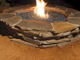 Slate Firepit Moderustic On The Diy Network Hgtv Custom Pits And