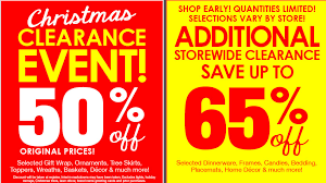 christmas clearance new printable coupon for the christmas tree shop clearance