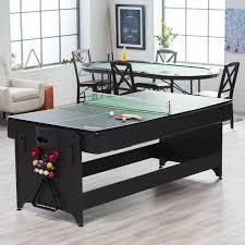 fat cat game table fat cat 7 ft black pockey table billiard air hockey table