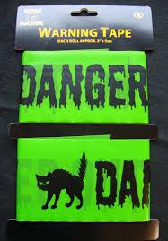 halloween tape halloween decorations danger keep out warning tape free p u0026p ebay